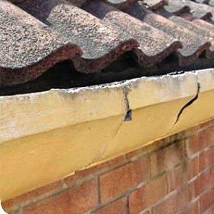 concrete gutter removal