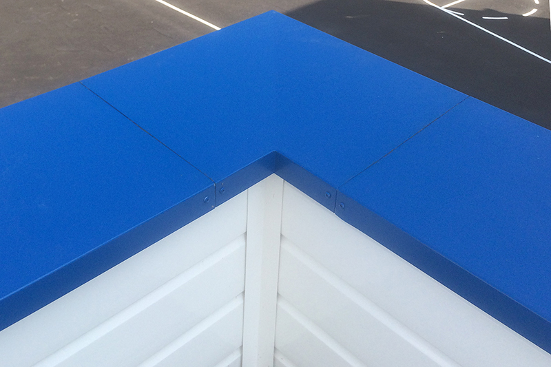 Commercial Roofline and Coping